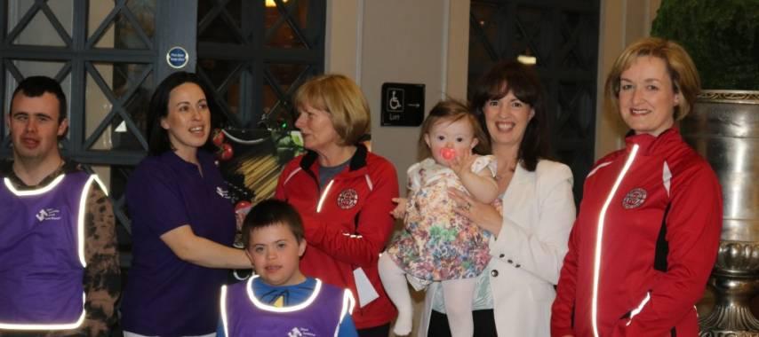 Down Syndrome Ireland Laois Branch Cheque Presentation