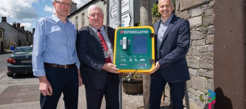 Laois Defibrillator Presentation