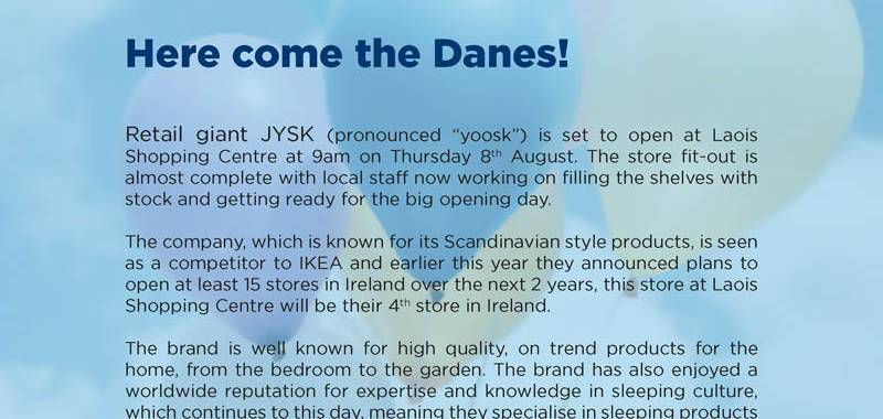 Pop Up JYSK Market