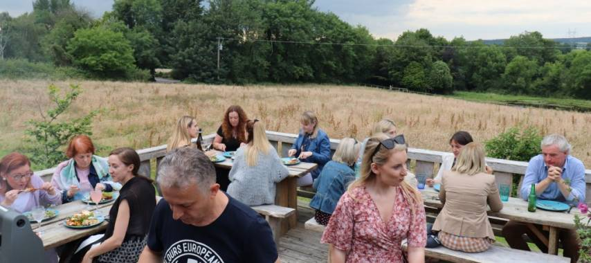 Network Ireland Laois Branch Glamping in Style