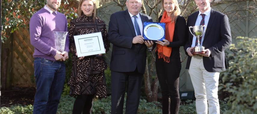 Laois and Offaly growers land awards