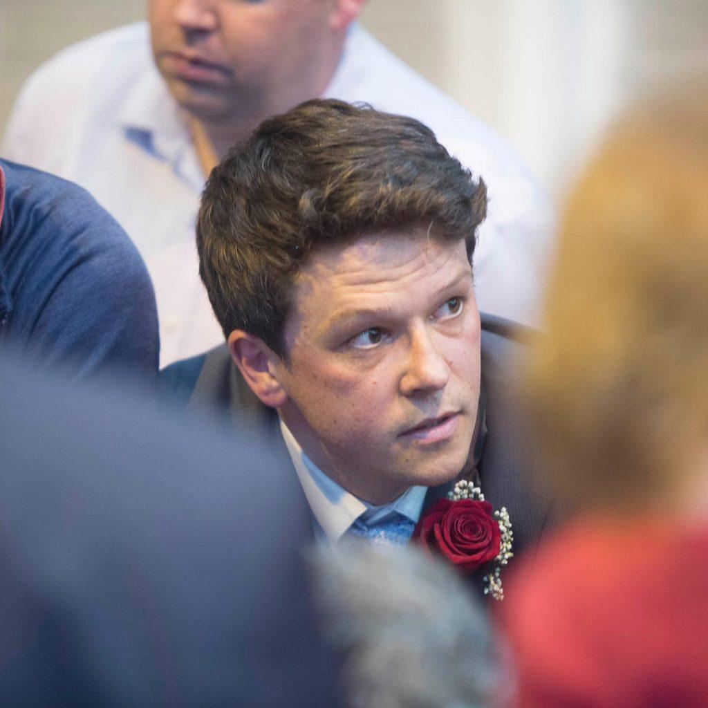 photo of Eoin Barry Labour local area representative for Graiguecullen- Portarlington