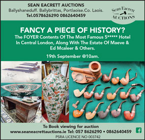 Secure yourself a piece of Irish Political History & Hotel Luxury