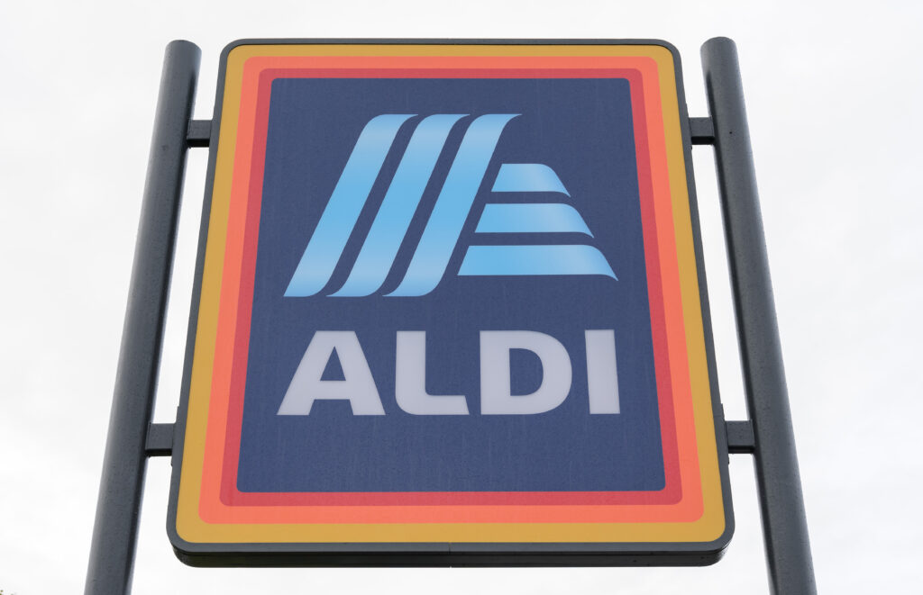 photo of Aldi sign outside one of its stores