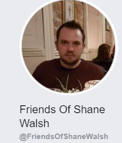 UPDATE ON FRIENDS OF SHANE WALSH FUNDRAISER