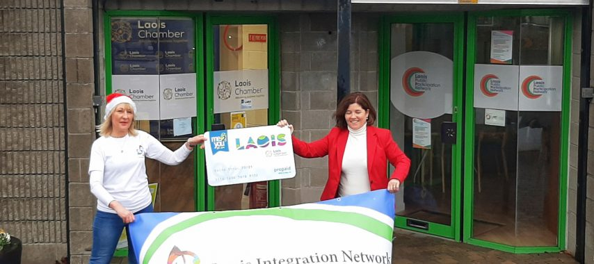 Laois Gift Cards for children in Direct Provision