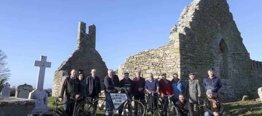Successful ongoing conservation of Clonaslee's Kilmanman Church