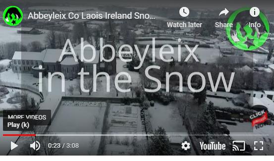 Abbeyleix in the Snow Video