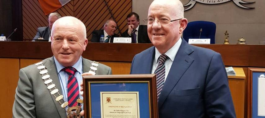 Councillor Tom Mulhall retires from Laois politics