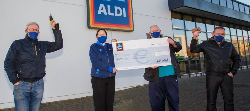 Laois Charities benefit from Aldi donations