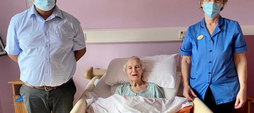 102-year-old first person in Laois nursing home to get Pfizer BioNTech COVID19 vaccine