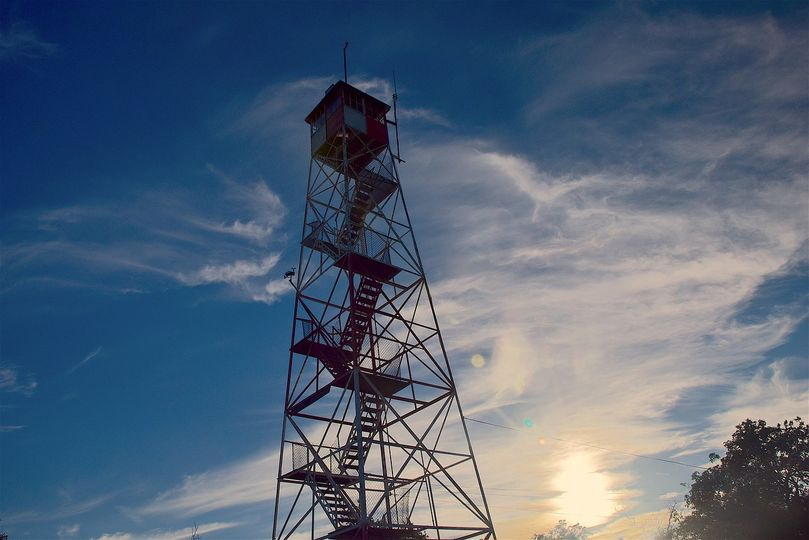 photo of fire tower