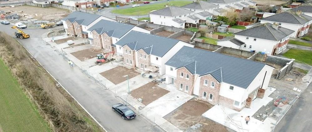 photo of new housing at Lake Drive, Kilminchy