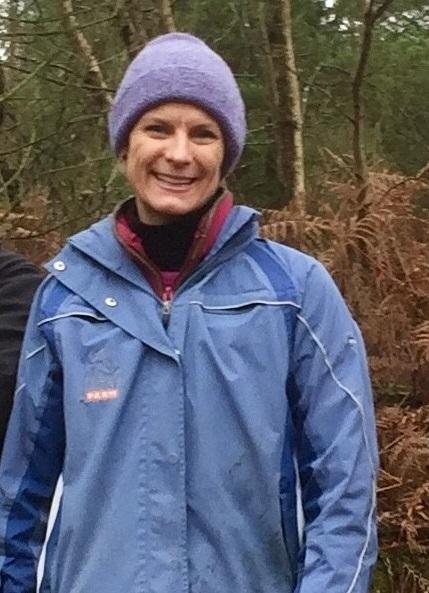 Photo of Pippa Hackett on Abbeyleix Bog in Laois