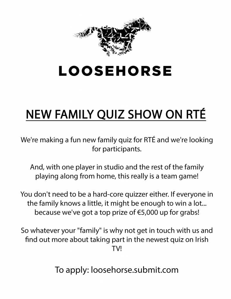 'Home Advantage' quiz show poster