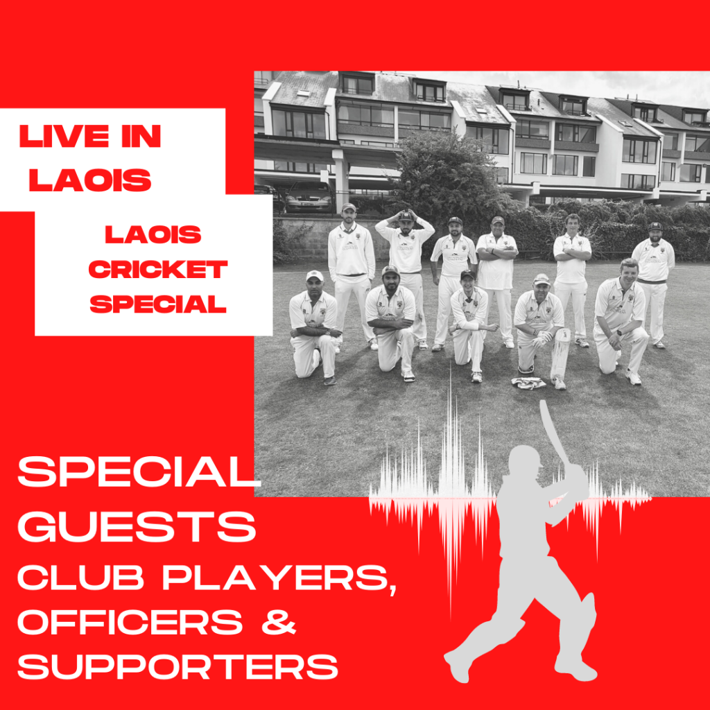 poster for Laois Cricket Club Special