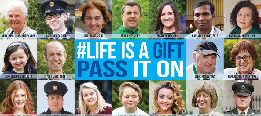 Latest Laois News: Ireland to light up in green for Organ Donor Awareness Week