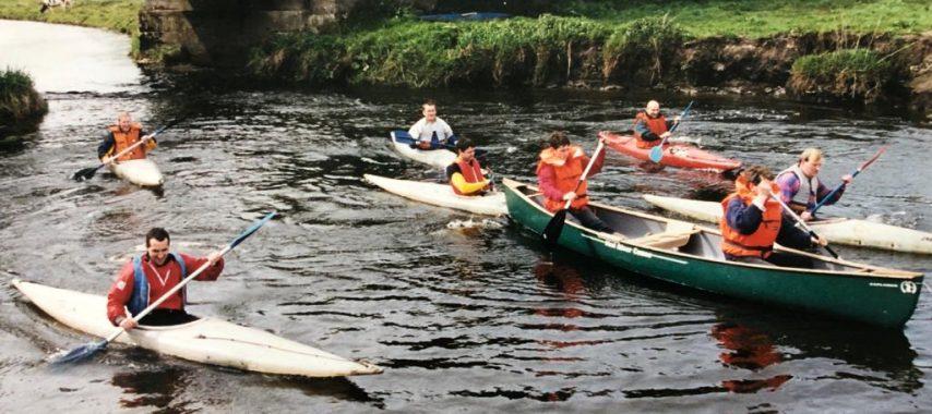 Latest Laois News: Woodenbridge Paddlers' Fundraiser for Erkina Blueway