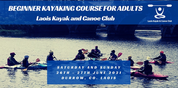 Laois Kayak and Canoe Club poster