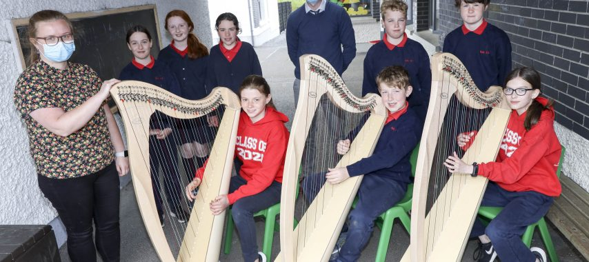 Latest Laois News: Rath National School in Laois gets new harps today