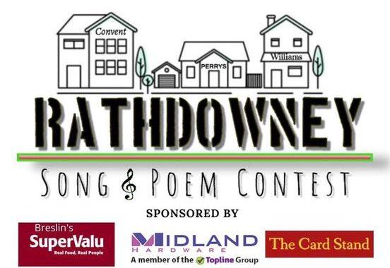 Latest Laois News: 2021 Rathdowney Song & Poem Contest