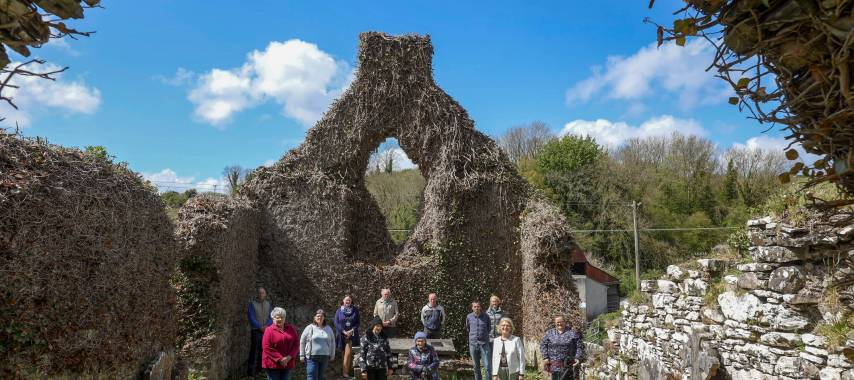 Latest Laois News: Project linking conservation of medieval heritage and biodiversity launched in Laois