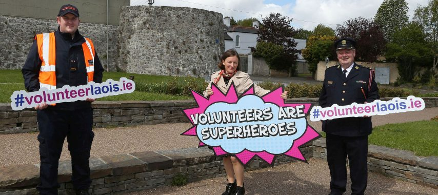 Latest Laois News: Laois Volunteer Centre launched in Portlaoise