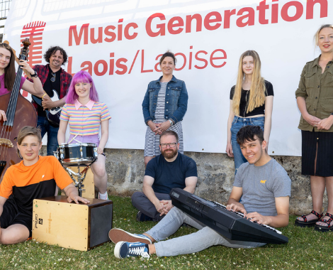 Latest Laois Event: Music Generation Laois launches its Summer School of Rock and Pop