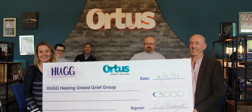 Latest Laois News:  €3k raised by Laois company for suicide bereavement group