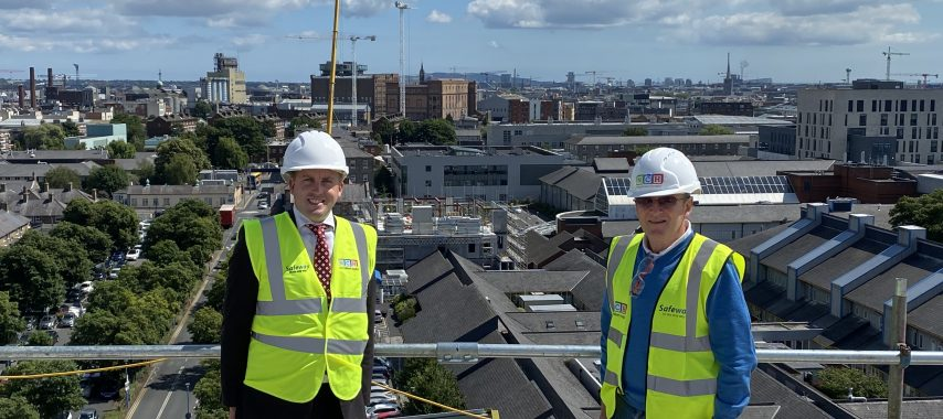 Latest Laois News: Local Chair of Public Accounts Committee visits National Children's Hospital site for progress report