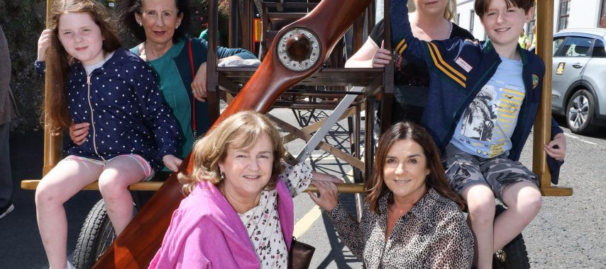 Latest Laois News: Laois Heritage Week off to a flyer as Portlaoise's aviation history showcased