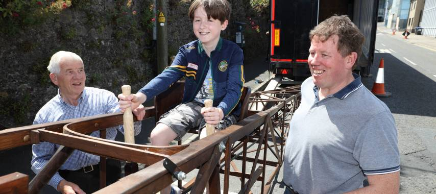 Latest Laois News: Final journey of 'The Portlaoise Flyer' sees it come home