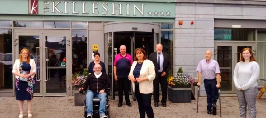 Latest Laois News: Physical Impairment Ireland group gets to meet Minister in Portlaoise today