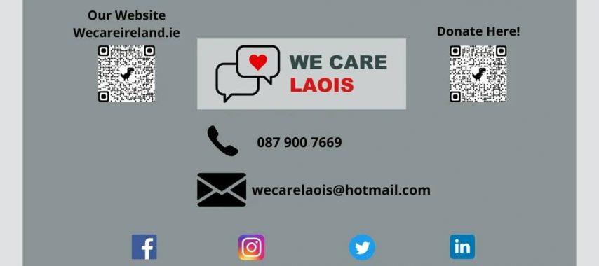Latest Laois News: 'We Care Laois' service launched