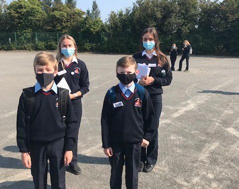 Latest Laois News: Mountrath Community School 1st years settle in