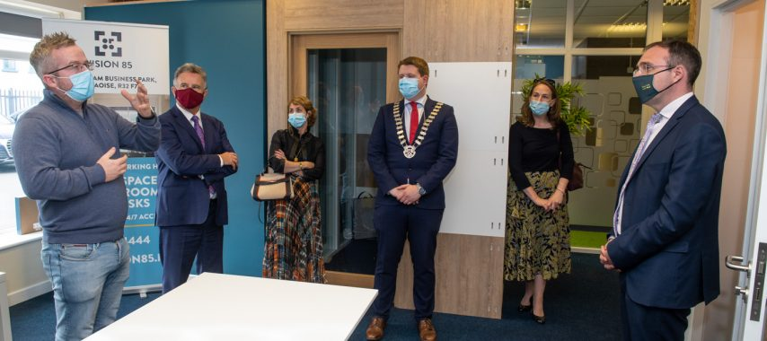 Latest Laois News: Minister's visit to Laois highlights role of local co-working hubs