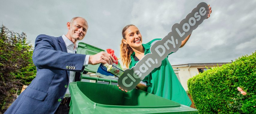 Latest Laois News: Clean, dry and loose plastic can now go in Laois recycling bins
