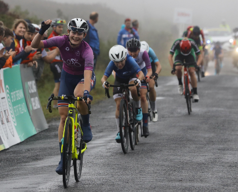 Latest Laois Sport: Ras na mBan leaderboard unchanged after exciting Laois stage