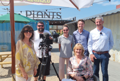 Latest Laois News: SOLAS Eco Garden Centre to feature on Nationwide