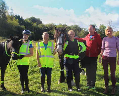 Latest Laois News: Pass Wide and Slow Ride from Laois to Curragh a 'great success'