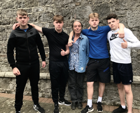 Latest Laois News: Young Portarlington men star in 'Travellers Tales' Film