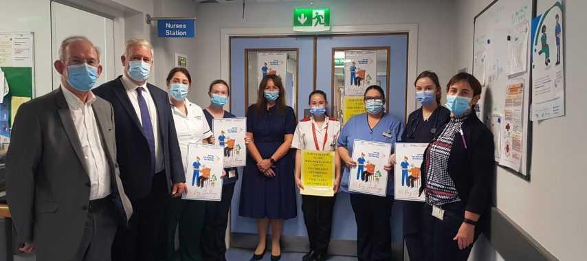 Latest Laois News: Launch of 'Get up, Get dressed, Get moving' challenge in Midland Regional Hospital Portlaoise