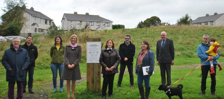 Latest Laois News: First 'NeighbourWood' Site in Laois launched by local Minister